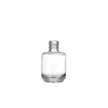 Wholesale custom made recyclable 15ml nail polish bottle glass