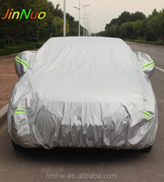 Hot Sale Silver Aluminum Film UV Protection Waterproof Car Covers Hail Protection Anti Aging Car Covers