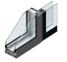 Wholesale house standard kitchen size aluminum alloy casement window