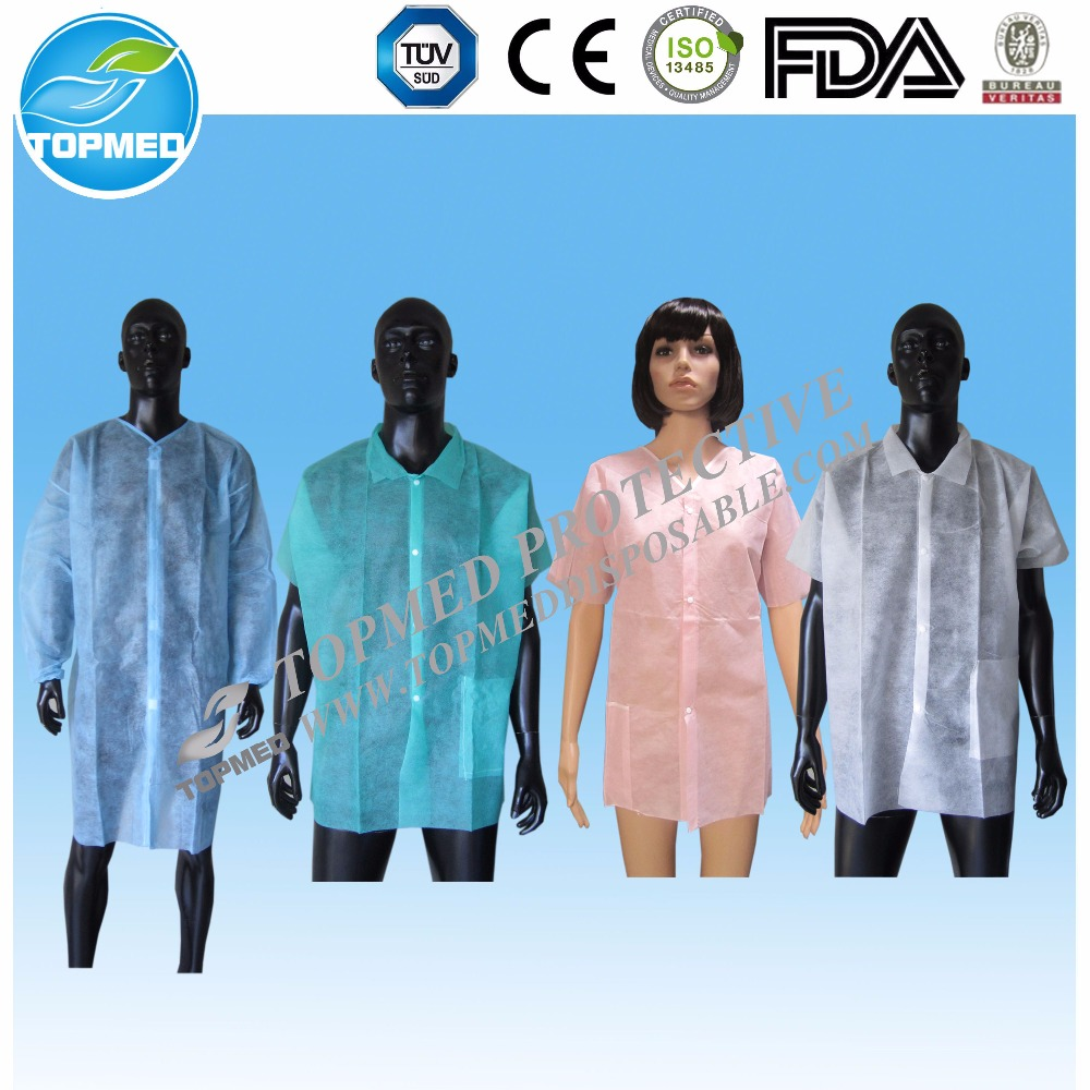 Hot Selling Disposable Protective Lab Coats Wholesale for Children