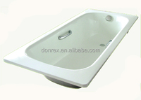 steel enamel bathtub with or without apron