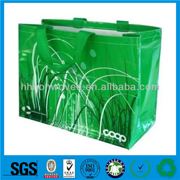 customized pp nonwoven popypropylene bag grocery green bag, pp woven fertilizer packing bag for agriculture usage
