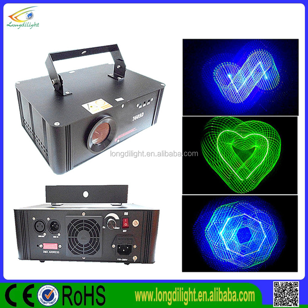 new products disco 3D Full color laser light