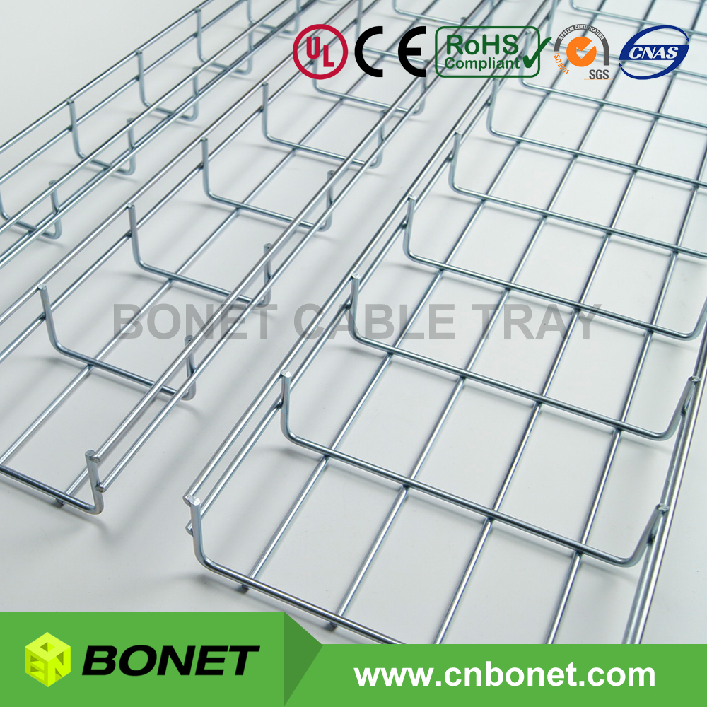 Bulk Production Basket Cable Tray Sizes in Stock