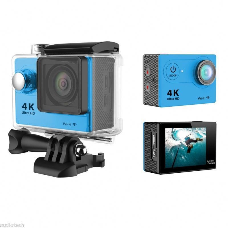 EKEN H9R 170 Degree Wide Angle 4K Ultra HD WiFi Action Camera with 2.4G Remote Controller and Sport Cam 2.0 inch Screen