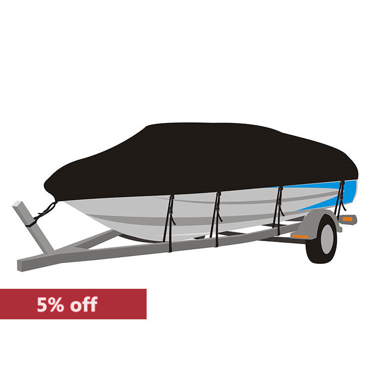 Inventory <strong>D</strong> style Waterproof UV Resistant boat cover 17-19'x96&quot;