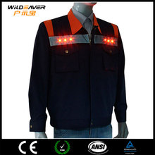 mens jackets safety jacket brand name clothing with led