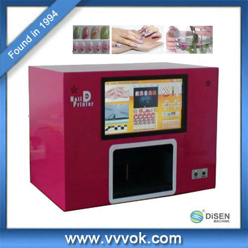 Digital nail art printer machine