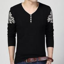 zm50986b 2017 autumn new products Korean man slim sweater v neck fashion men knitted sweaters