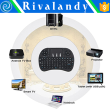 2.4G Wireless Gyroscope Fly Air Mouse Microphone Keyboard and Remote Control in one for Android
