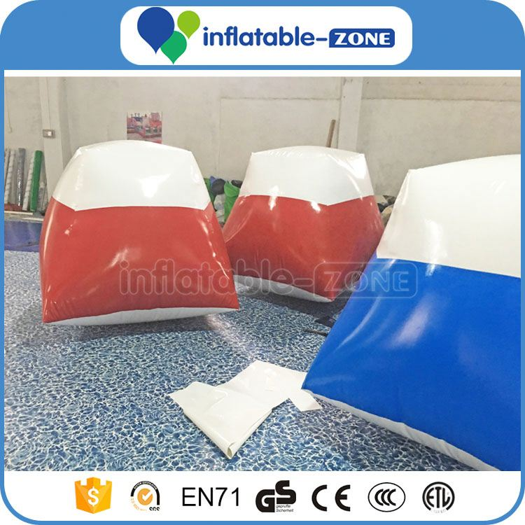 Paintball balls prices 2016 inflatable paintball bunkers inflatable airsoft bunker for wholesales