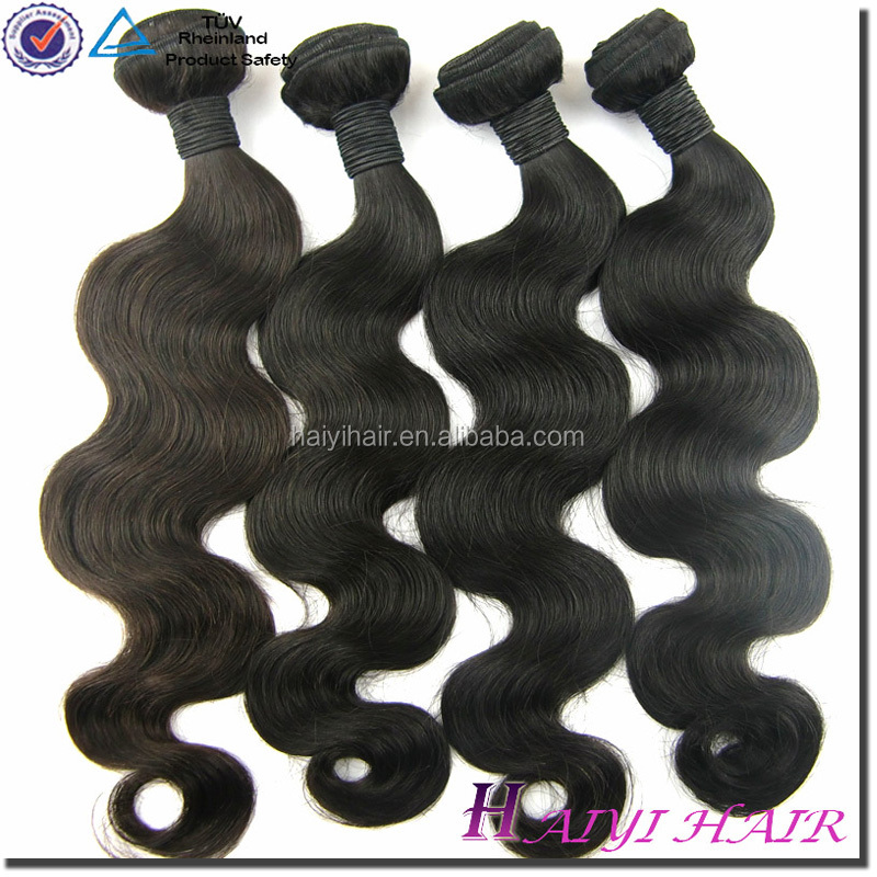 Grade 7a Virgin Hair Weft, Remy Human Hair Best quality Brazilian Hair Extensions Canada