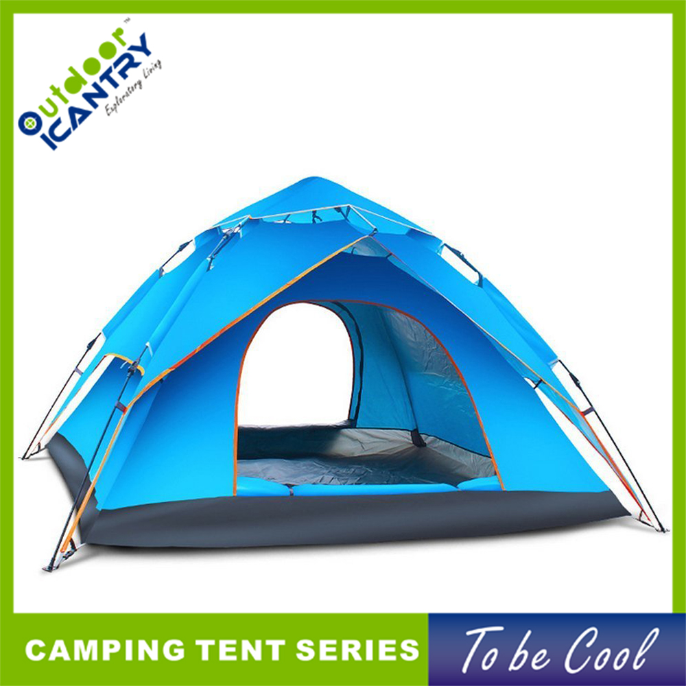 Quick delivery outdoor tent optional color available easy set up big camping tent for sale