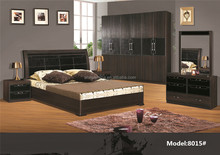 8015# Middle east furniture wood beds hot sale indian wooden bed