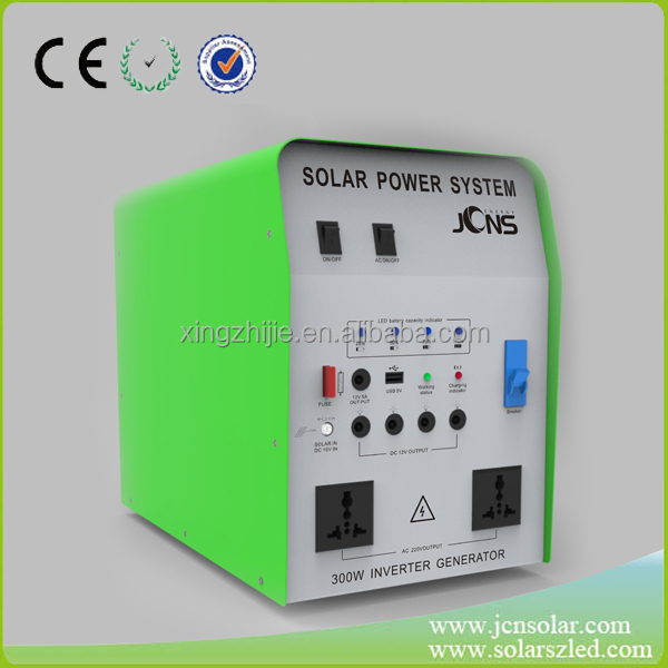 New design AC off gird solar generator solar home system factory supply