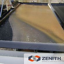 High quality gold table concentrate separator with ISO9001 Approval