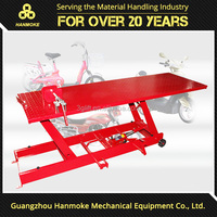 Portable motorcycle repair lift table lifting equipment for sale