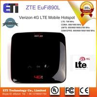 ZTE Eufi890 890L 4G LTE 150M router mobile hotspot wifi router verizon 10 user device supported