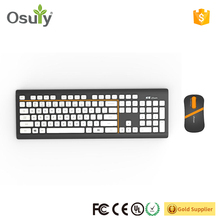 OEM customize 2018 portable keyboard for desktop computer 2.4G wireless keyboard for pc