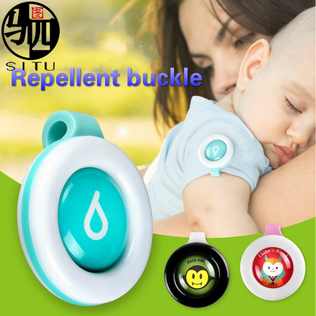 Mosquito Repellent Badge Button Safe for Baby & Pregnant Woman