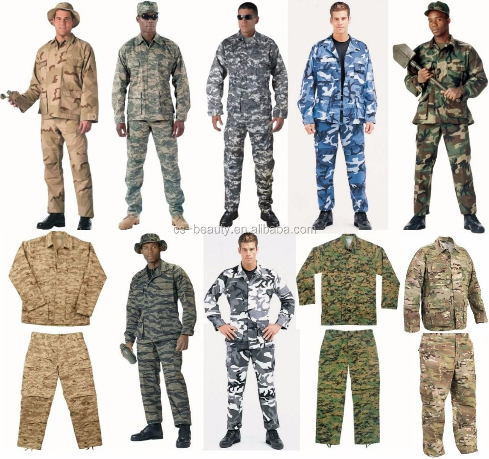 custom camouflage american combat battle dress digital