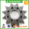 Custom steel aftermarket motorcycle front sprocket