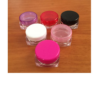 Clear Screw Cap Sealing mini Eye Cream Container 5g Cream Bottle from Factory