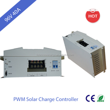 Listen high quanlity PWM solar charge controller 40A 96V with LCD RS232 RS485 terminal setting by PC