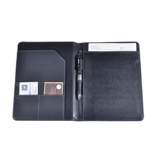 Wholesale Business A4 leather portfolios padfolio supplier BWA-2