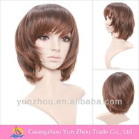 Guangzhou Factory high quality sexy synthetic short wig