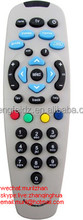 White 35 Keys Indiashopers Compatible For Dth Set Top Box Of Tata Sky Remote Controller(Multicolour) for India market