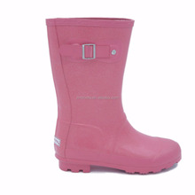 Hot chocolate shoes fashion rain boots wholesale rubber outsole spark pink