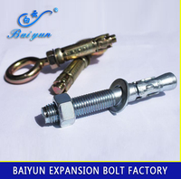 China fastener manufaturer dacromet m18 anchor bolt