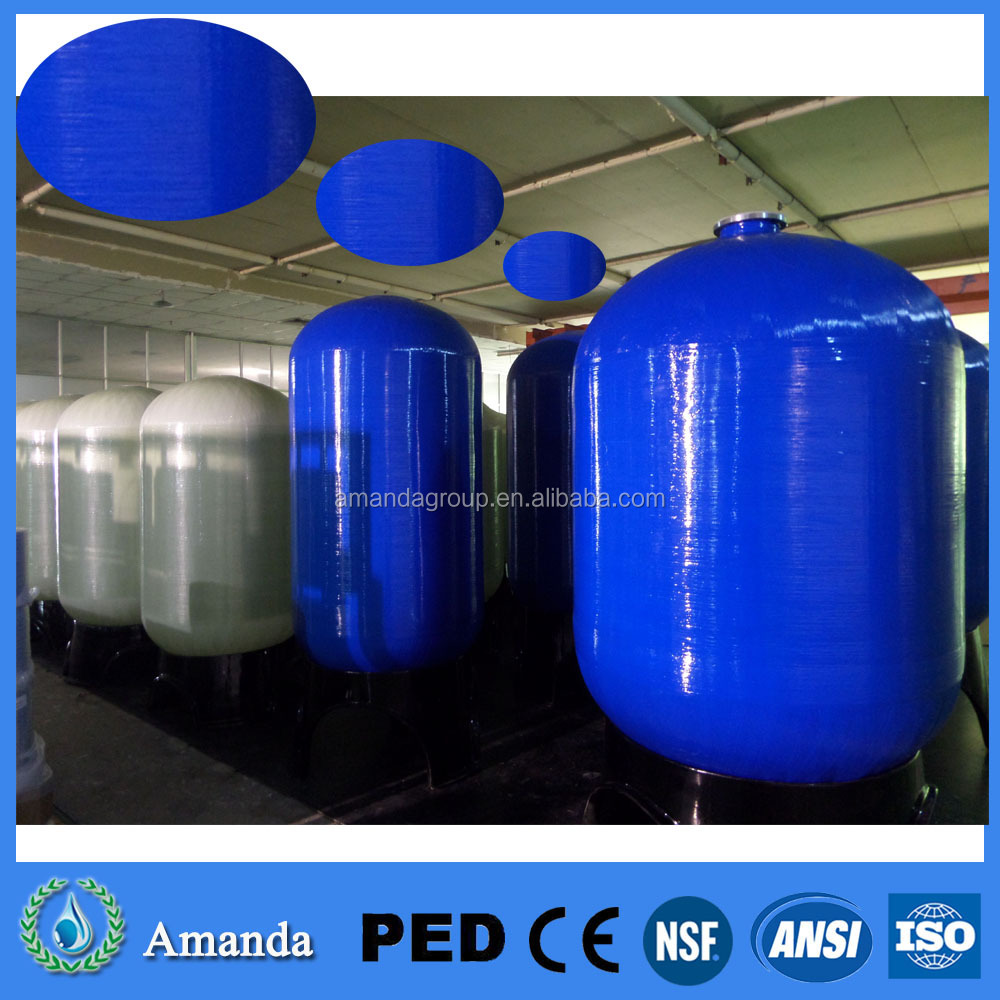 1669 Fiberglass/FRP TANK for water treatment sand filter/carbon filter/softener tank