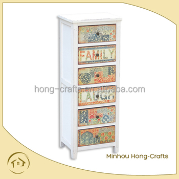 Wooden lockable storage cabinets