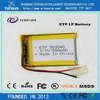 Tonsim 500 Times Durable High Quality 3.7v Customized Lipo Rapid Charge Battery