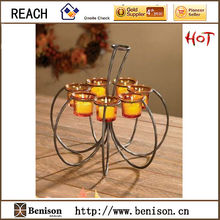 BS12-132 T-light pumpkin Candle Holder