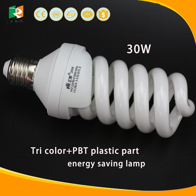 Tri- Color Power 30w led energy saving fluorescent light
