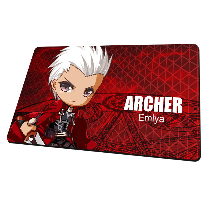 New Archer Emiya - Fate Stay Night Anime Gaming Mouse Pad Deluxe Multipurpose Playmat H0443