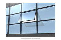 AS/NZS Low e double glass windows price triple glazed insulated units glass