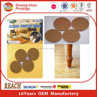 furniture accessories cork adhesive furniture moving pads