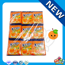 Orange Flavored Instant Drink Powder Sachet