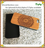 PC+Wood Phone back Cover Case,custom design wooden cell phone case, Blank Wood Case for iphone 6 7