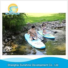 Alibaba china Super Cheap inflatable sup board pvc surfboard