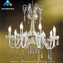 8 Lights cheap chandelier crystal