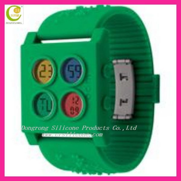 NEW design novelty wrist watches,custom made silicone watches