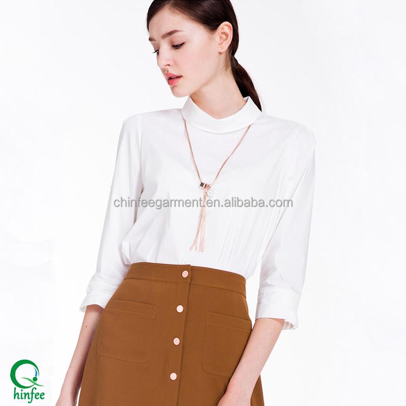 Korean Ladies Formal Skirt And Blouse For Office Wear - Buy Ladies ...