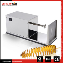 The lowest price Industrial Stainless Steel Electric potato spiral cutter for Sale