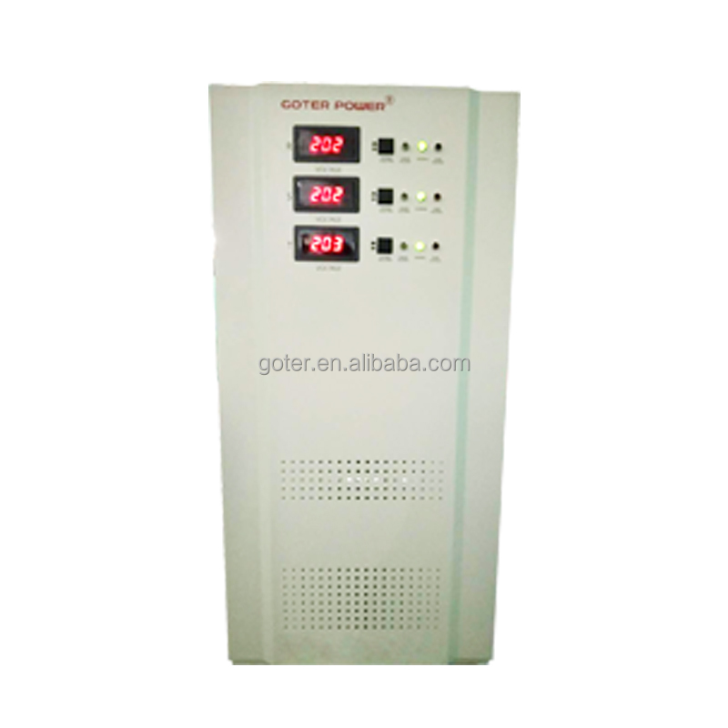 SVC Series Servo Type Ac 15kva 30kva Automatic Voltage Stabilizer Price List for Medical amd Family Electrical Equipment