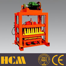 HOT Small scale induatries brick machines QTJ4-40B simple operation